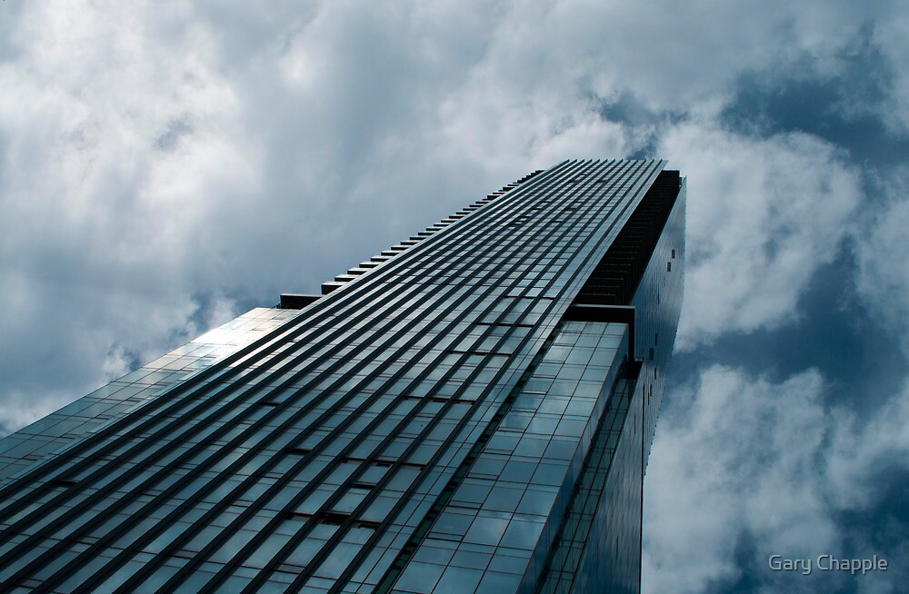 Blue Skyscraper by Gary Chapple