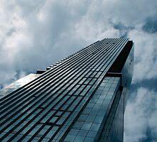 Blue Skyscraper by Gary Chapple