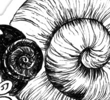 Snailgirl Sticker