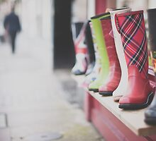 Boots and bokeh by Paisleypatches