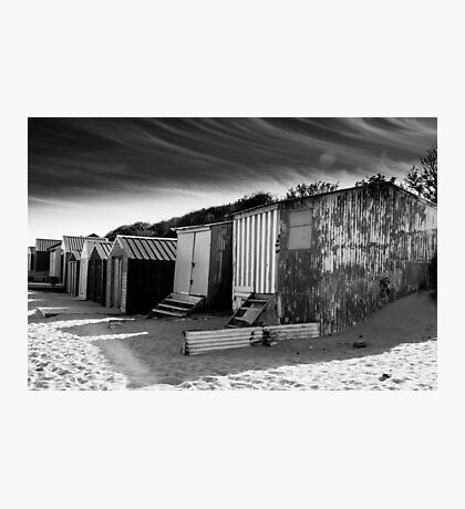Decaying Beach Huts  Photographic Print