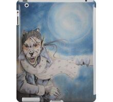 when its the full moon iPad Case/Skin