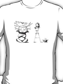 Girl and a monster T-Shirt
