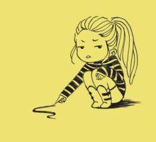 Bored Girl One Piece - Short Sleeve