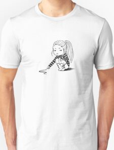 Bored Girl Unisex T-Shirt