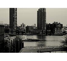 East River. Long Island. Photographic Print