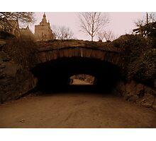 Central Park. Riftstone Bridge. Photographic Print