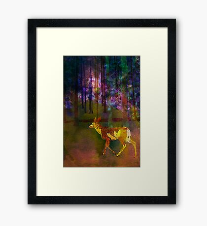 Back to the Forest Framed Print
