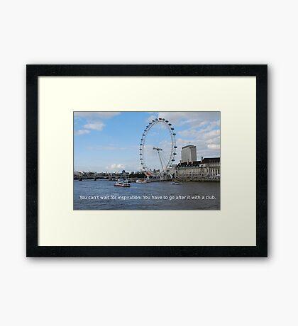 London Eye - Great Britain Framed Print