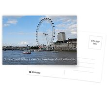 London Eye - Great Britain Postcards