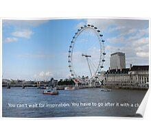 London Eye - Great Britain Poster