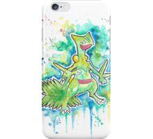 Epic Sceptile Watercolor Tshirts + More! ' Pokemon ' Jonny2may iPhone Case/Skin