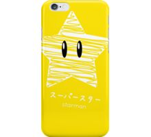 starman -scribble- iPhone Case/Skin