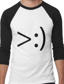 >:) Men's Baseball ¾ T-Shirt