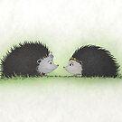 Hedgehog + Hedgehog by Mariya Olshevska