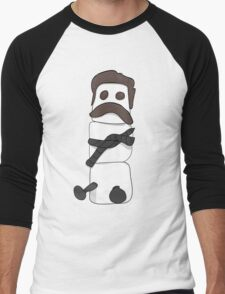 Marshmallow Ron Men's Baseball ¾ T-Shirt