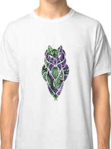 Owl Mosaic Green / Purple  Classic T-Shirt