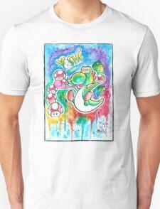 Cute Galaxy Yoshi - Watercolor Streetart T shirts + More! Nintendo T-Shirt