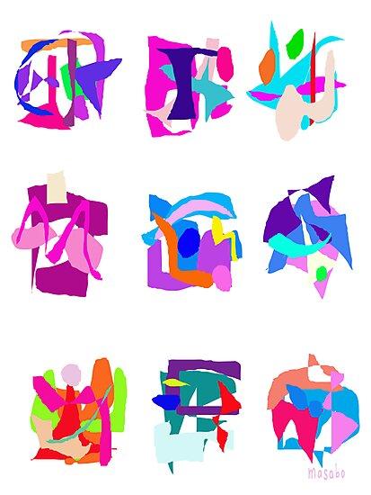 Masks  by masabo