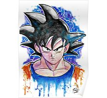 Epic GOKU DBZ - Watercolor - Streetart Tees n more! Jonny2may Poster
