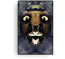 I'm the monster hiding under your bed Canvas Print