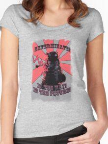 Dalek!! Women's Fitted Scoop T-Shirt