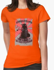 Dalek!! Womens Fitted T-Shirt