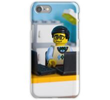 Geek @ work iPhone Case/Skin