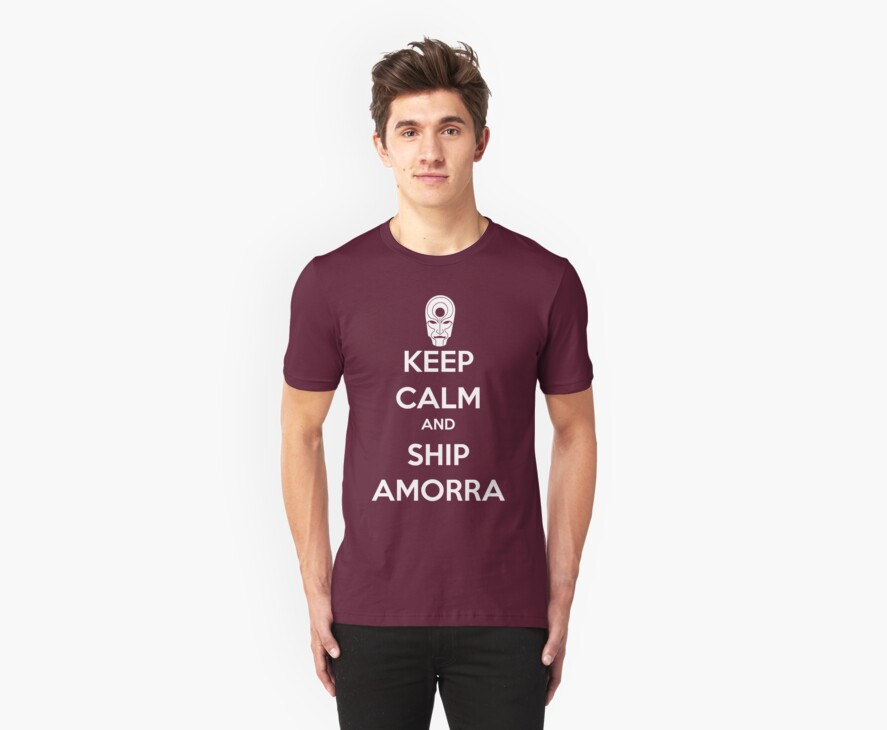 Keep Calm and Ship Amorra! by SpazzyFanGirl