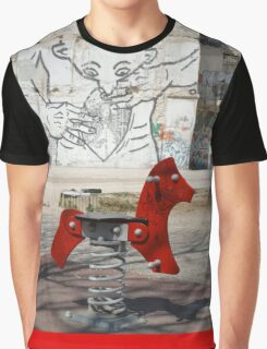 Introspective Grafitti, Marseilles, France 2012 Graphic T-Shirt