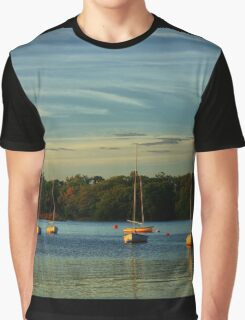 Evening highlights and boats Graphic T-Shirt