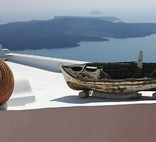 View At Santorini by Bob Christopher