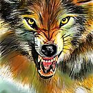 Wolfie, featured in Art Universe, Group-Gallery of Art and Photography, Best of Redbubble by Françoise  Dugourd-Caput
