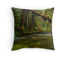 My Secret Paradise - The Beautiful Branch Throw Pillow