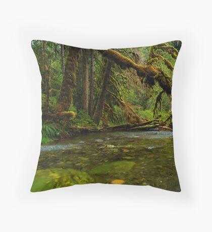 My Secret Paradise - The Beautiful Branch Throw Pillow