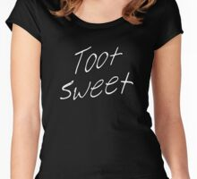 Toot Sweet Women's Fitted Scoop T-Shirt