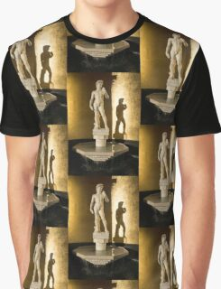 Michelangelo's David and his Shadow Graphic T-Shirt