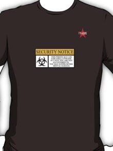 I.T HERO - Security Notice T-Shirt