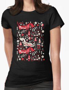 Dog Folk In Black/ Red T-Shirt