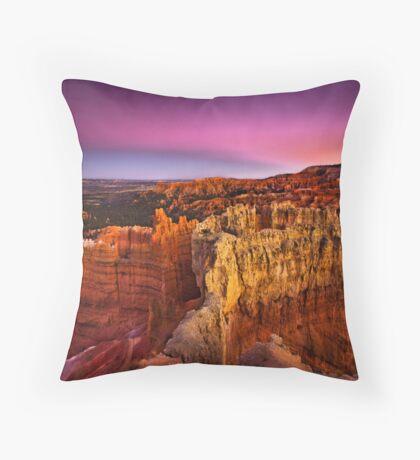 The Eternal Sculptor Throw Pillow