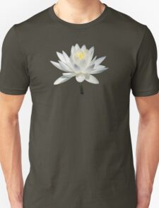 White Water Lily in Sunshine T-Shirt