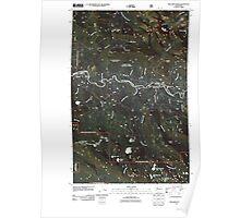 USGS Topo Map Washington State WA Mallardy Ridge 20110510 TM Poster