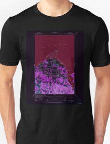 USGS Topo Map Washington State WA Dungeness 240898 1938 62500 Inverted T-Shirt