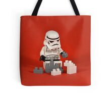 Playing Lego Tote Bag