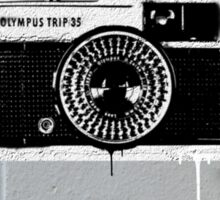 Olympus Trip 35 Stenciled Sticker