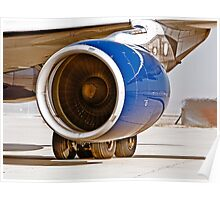 Rolls Royce Trent 700  Jet Engine on an Airbus 330-200 Poster