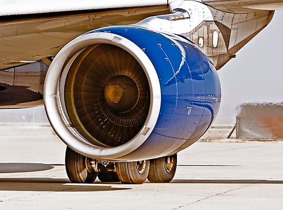 Rolls Royce Trent 700  Jet Engine on an Airbus 330-200 by Buckwhite