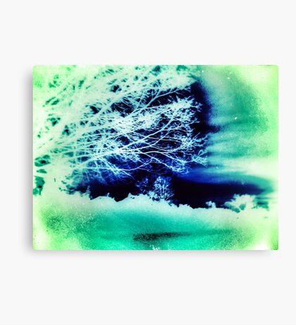 Acid Wash: Sea Foam Canvas Print