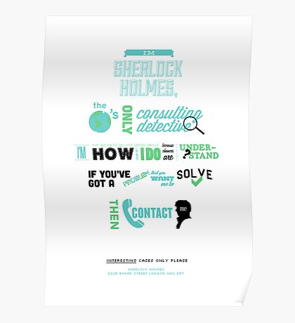 Sherlock Holmes - Consulting Detective Poster