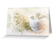 ***  AFTERNOON TEA DELIGHT *** Greeting Card